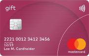 Förbetalt kort MasterCard prepaid - Gåvokort
